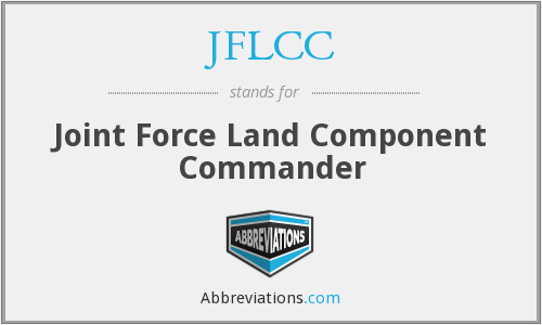 What does JFLCC stand for?