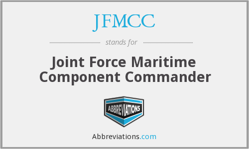 What does JFMCC stand for?
