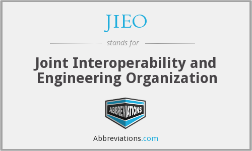 What does JIEO stand for?