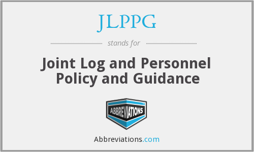 What does JLPPG stand for?