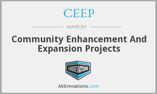 What does CEEP stand for?
