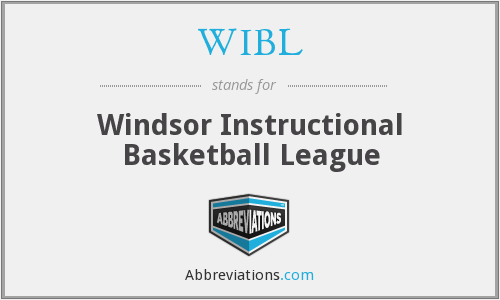 What does WIBL stand for?