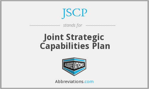 What does JSCP stand for?