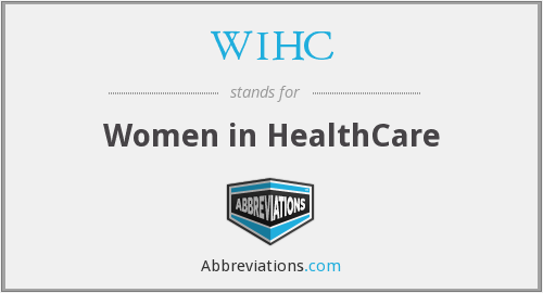 What does WIHC stand for?