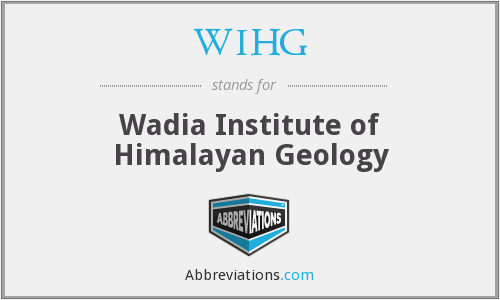 What does WIHG stand for?