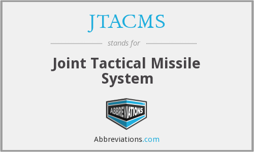 What does JTACMS stand for?