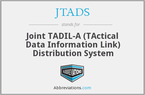 What does JTADS stand for?