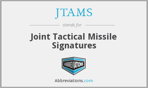 What does JTAMS stand for?