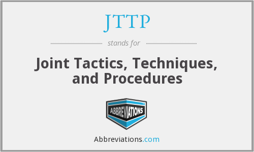 What does JTTP stand for?