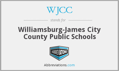 What does WJCC stand for?