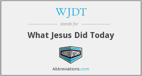 What does WJDT stand for?