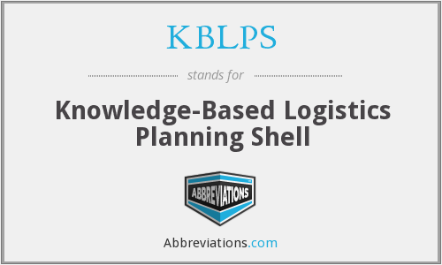 What does KBLPS stand for?