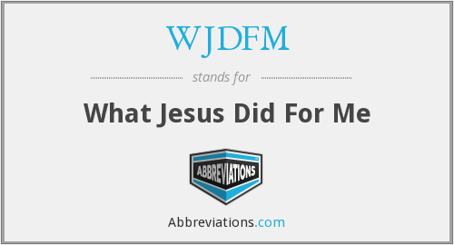 What does WJDFM stand for?