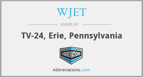 What does WJET stand for?