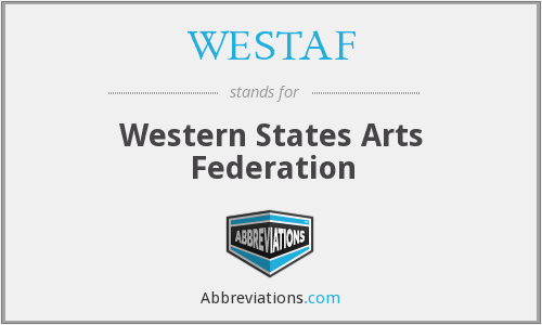 What does WESTAF stand for?