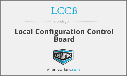 What does LCCB stand for?