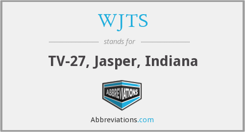 What does WJTS stand for?
