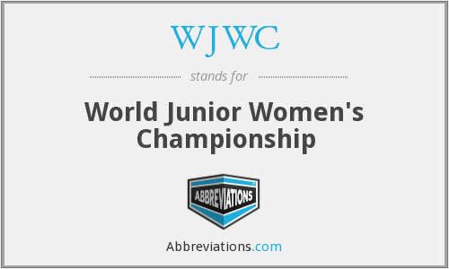 What does WJWC stand for?