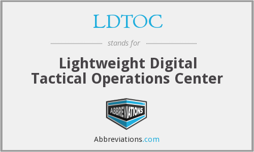 What does LDTOC stand for?
