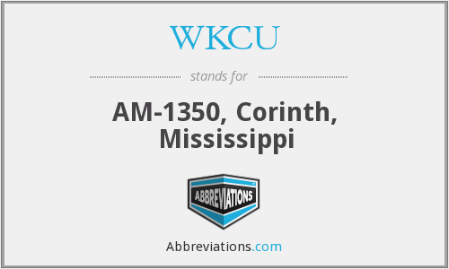 What does WKCU stand for?
