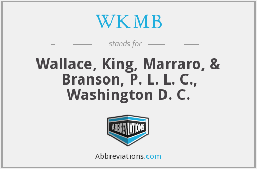What does WKMB stand for?