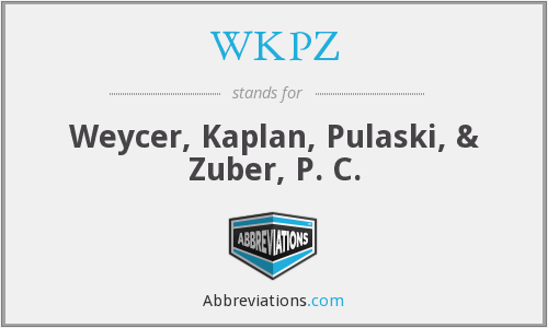 What does WKPZ stand for?