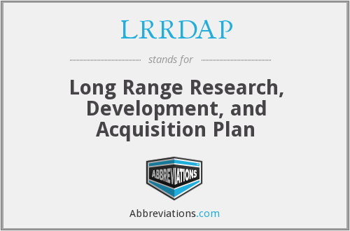 What does LRRDAP stand for?