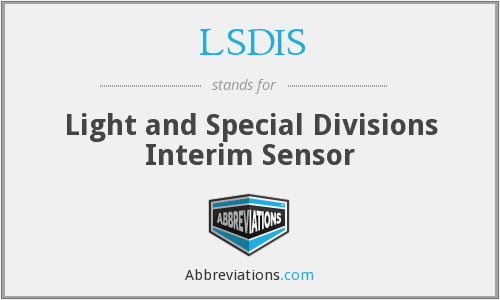 What does LSDIS stand for?