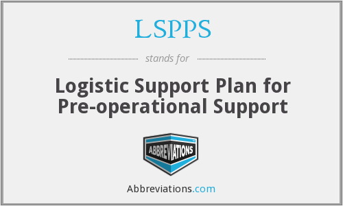 What does LSPPS stand for?