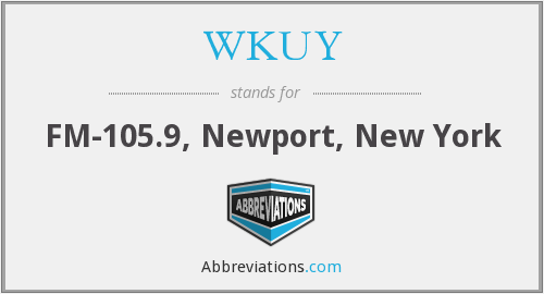 What does WKUY stand for?