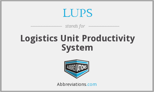 What does LUPS stand for?