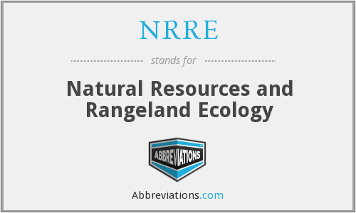 What does NRRE stand for?