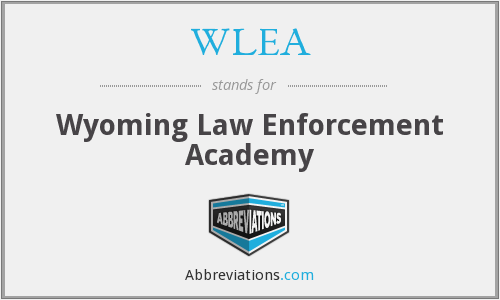 What does WLEA stand for?