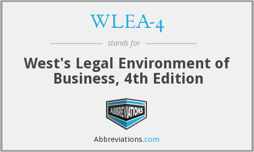 What does WLEA-4 stand for?