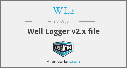 What does WL2 stand for?