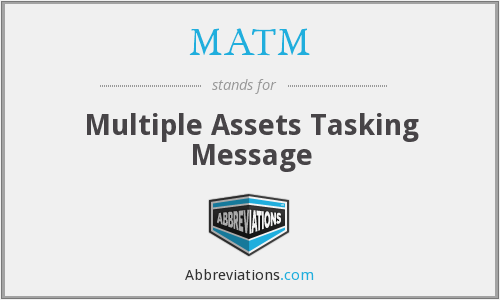 What does MATM stand for?