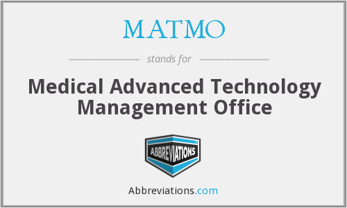 What does MATMO stand for?