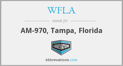 What does WFLA stand for?