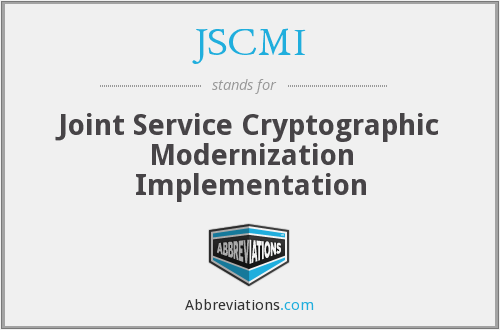 What does JSCMI stand for?