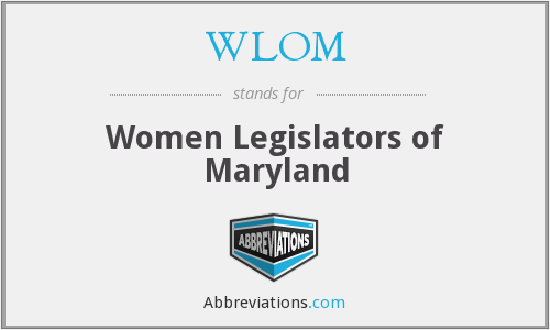 What does WLOM stand for?