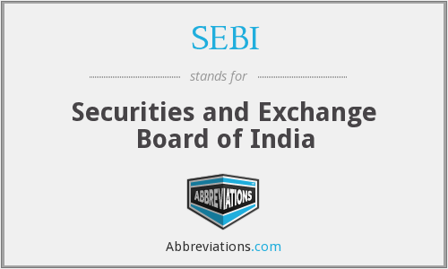 What does SEBI stand for?