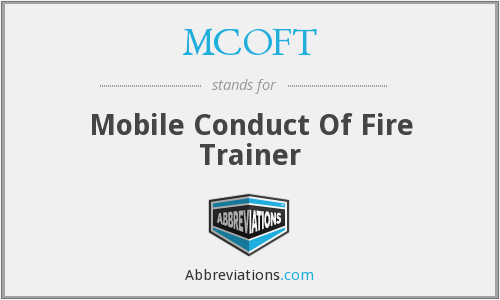 What does MCOFT stand for?