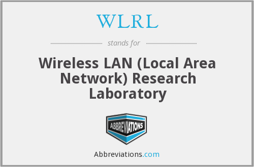 What does WLRL stand for?