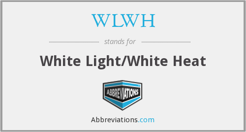 What does WLWH stand for?