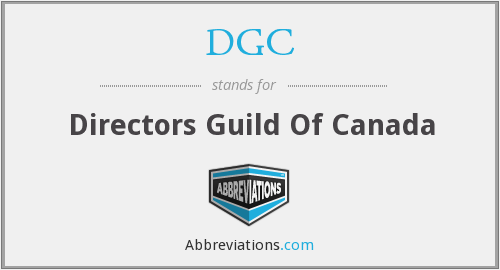 What does DGC stand for?