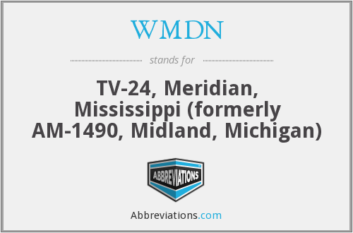 What does WMDN stand for?