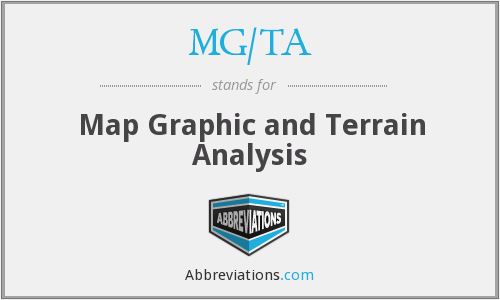 What does MG/TA stand for?