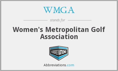 What does WMGA stand for?