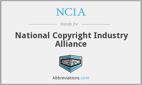 What does NCIA stand for?