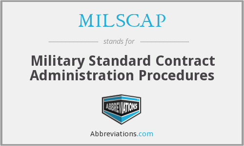 What does MILSCAP stand for?